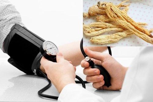 Bệnh huyết áp và thần dược nhân sâm hoa kỳ