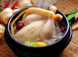 Chế biến món ăn bổ dưỡng từ sâm Hàn Quốc