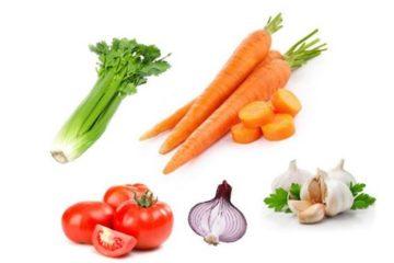 Phương pháp chữa ổn định huyết áp bằng rau củ quả