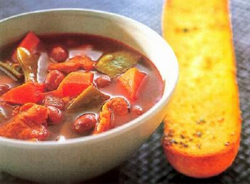 Canh đậu đỏ bí đao