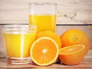 Bệnh tim mạch và nước cam
